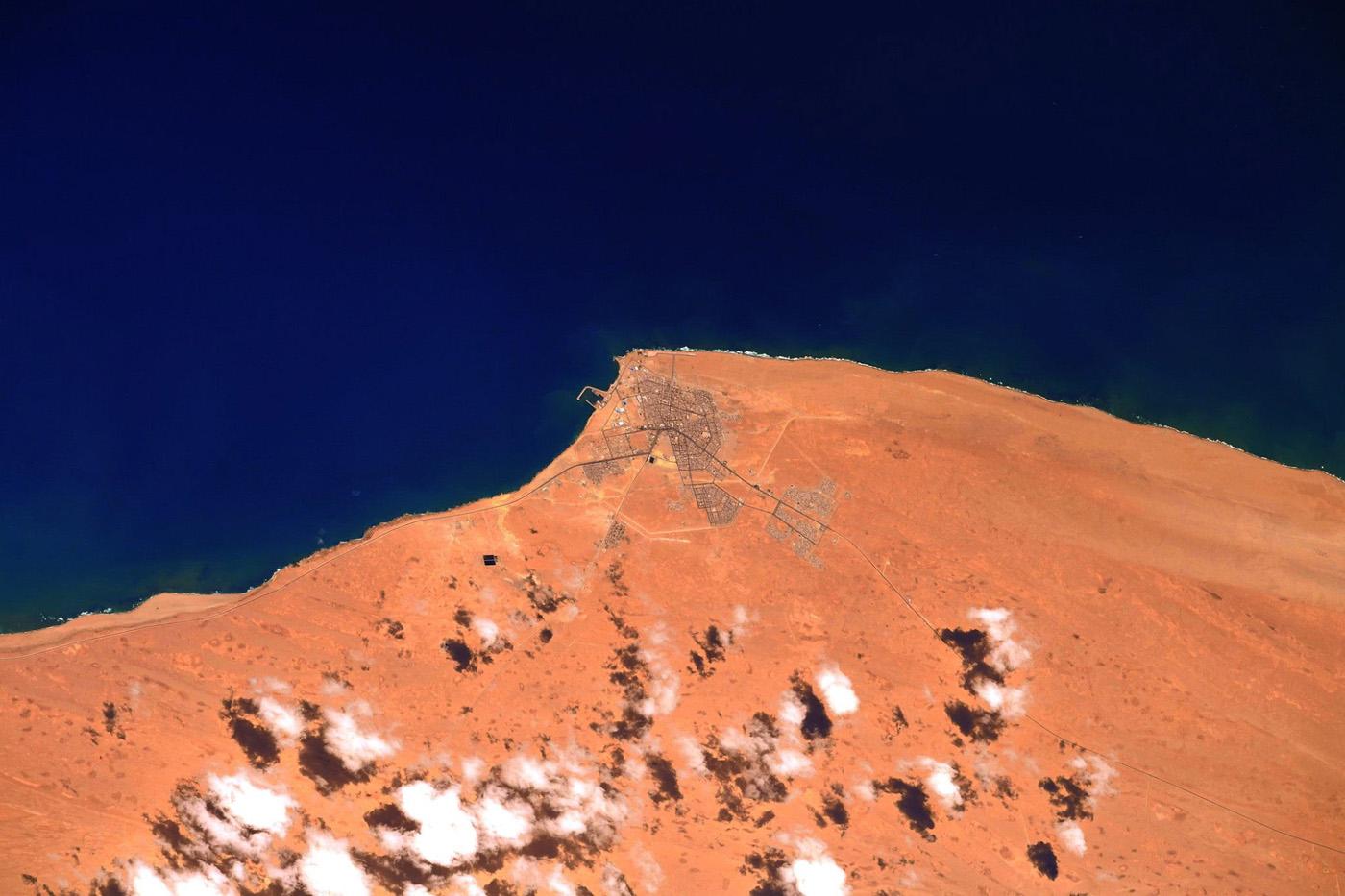 Sahara marocain © Thomas Pesquet