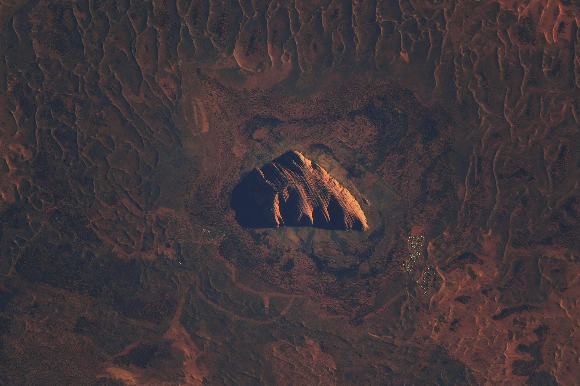 Uluru © Thomas Pesquet