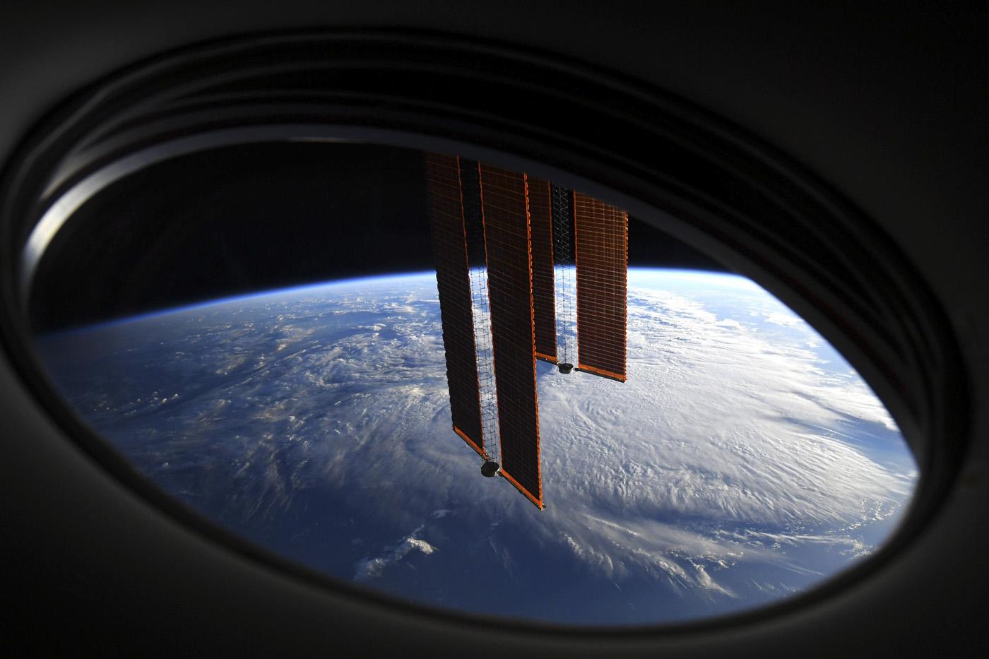 Vue de l'ISS © Thomas Pesquet